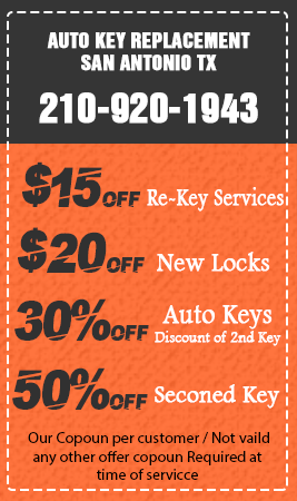 Auto Key Replacement San Antonio TX Coupon